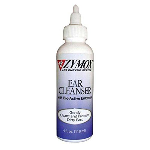 Zymox Ear Cleanser, 4-Ounce (Cat Ear Cleaner compare prices)