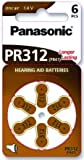 Panasonic Hörgerätebatterien PR312 (10 Blister Pack - 60...
