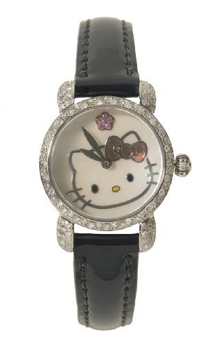 Hello Kitty Women's QWL1381DIA Kimora Lee Simmons Mini Watch
