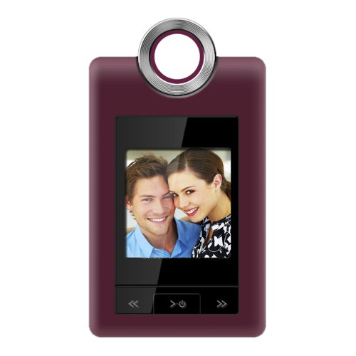 Coby 1.5-Inch Digital Lcd Photo Cliphanger Dp152Red (Red)