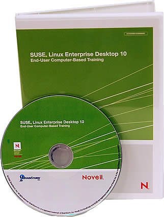 Novell Suse Linux Enterprise Desktop 10 Computer Based Training CD- Learn Linux with Over 8 Hours of Lessons on CD. Covers Over 200 Suse Linux Desktop Software Operating System Features From Basic to Advanced Including; Firefox Use, Configuring Printers, Playing an MP3, Saving to Microsoft Office Format, Etc. CBT Training By Experienced Linux Instructor. For Windows, Mac, Linux, All Platforms.