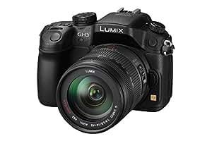 Panasonic Lumix DMC-GH3HEG-K Systemkamera (16 Megapixel, 7,6 cm (3 Zoll) Display, Live View) inkl. Lumix G Vario HD 14-140mm, f/4.0-5.8 schwarz