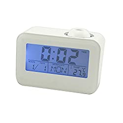 Neon® Multi-function Digital LED Voice Talking Projector Alarm Clock with Calendar Temperature LED Backlight