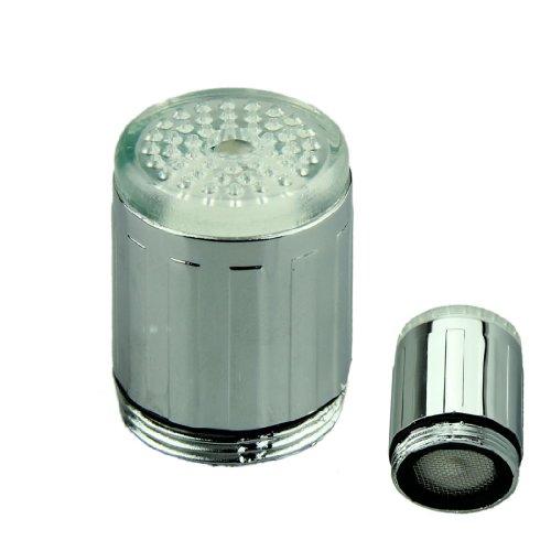 Voberry Glow Led Light Water Faucet Tap Automatic 7 Colors Change Sensitive Led Faucet Light