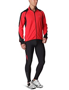 Gore Bike Wear Men's Phantom 2.0 Windstopper Soft Shell Jacket - Red/Black, X-Large