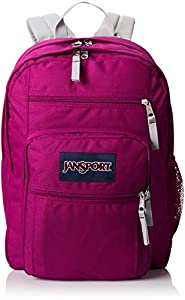 JanSport Big Student Backpack - Berrylicious Purple / 17.5H x 13W x 10D