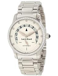 Louis Erard Women's 91601SE56.BMA16 Emotion Automatic Ivory Dial Diamond Steel Date Watch