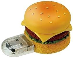 グリーンハウス USBフラッシュメモリ ファーストフード 2GB 「ハンバーガー」GH-UFD2GF-HB