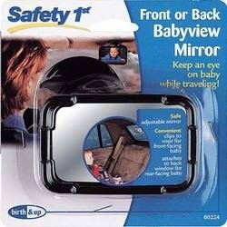 Safety 1st Front or Back Babyview Mirror 2 pack