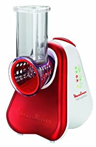 Moulinex DJ750G32 Robot ménager Fresh Express Rouge Rubis