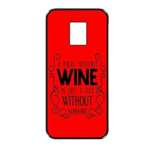 Vibhar printed case back cover for Samsung Galaxy S5 WineSunshine
