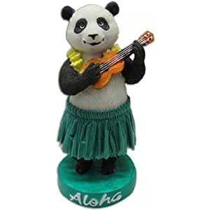 KC Hawaii Hawaiian Panda with Ukulele Mini Dashboard Doll