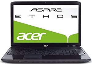 Acer Aspire 8942G-724G64Bn  46,7 cm (18,4 Zoll)  (Intel Core i7 720QM 1,6GHz, 4GB RAM, 640GB HDD, ATI Mobility Radeon HD 5850, Blu-ray, Win 7 HP)