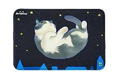 【JADE Japan】 猫 玄関 トイレ マット (18種) 猫柄 カーペットマット ギフト ペット お食事マット 足拭き シート ファッション 小物 専門 Madre (10)