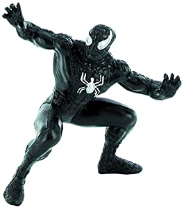 Comansi 7cm Marvel Comics Black Spider Man Mini Figure