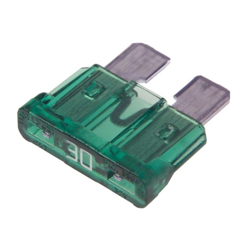 30 AMP STANDARD CAR BLADE FUSE PACK OF 50