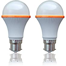 SSK LED (Now Syska LED) 8 Watts Unbreakable LED Bulb (Pack Of 2, Cool Day Light) Made In Korea