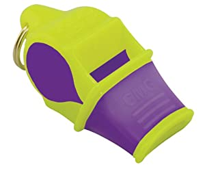 Fox 40 Sonik Blast CMG with Lanyard - Multi Color, Neon/purple