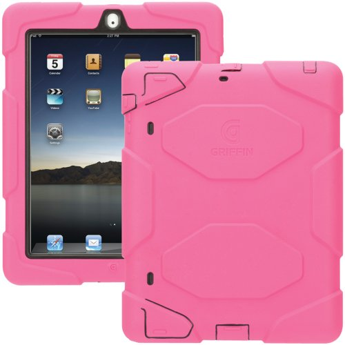 Griffin GB02534 Survivor Extreme-duty case for the new iPad (3rd Generation) and iPad 2, Pink