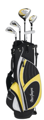 MacGregor Set Tipo A Mazze da Golf da Bambino, 7 : 9 Acciaio, 6-8 Anni, per Mano Destra