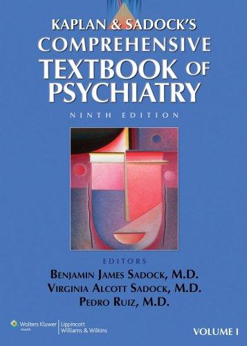 Kaplan and Sadock's Comprehensive Textbook of Psychiatry 2 Volume Set Benjamin J. Sadock, Pedro Ruiz, Virginia Alcott Sadock