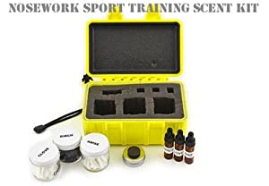 Nosework Training Scent Kits (Nosework Sport Scent Kit, Small) by Leerburg
