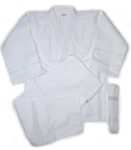 Mitsuboshi Judo robe top / bottom / belt / 3 point set J-105 size 3,.