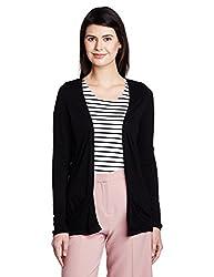 People Women's Blouson Jacket (P20401116076100_Black _Medium)