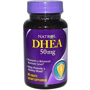 Natrol DHEA 60 Tablets