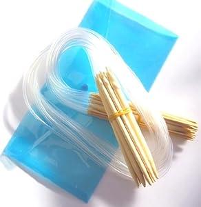 19 sizes 2mm-12mm 80cm Bamboo Circular Knitting Needles