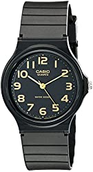 Casio Men's MQ24-1B2 Watch with Black Resin Band