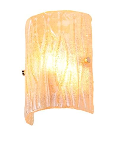 Alternating Current Brilliance 1-Light Wall Sconce, Champagne