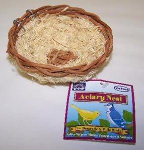 Vo-Toys Hemp Canary Nest 4x4in