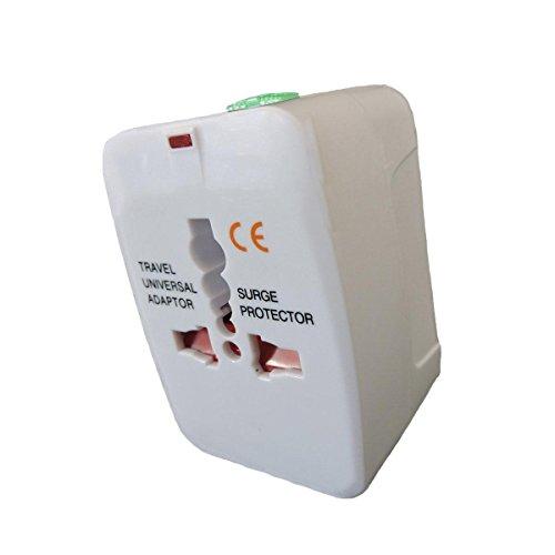 Aspentek All In One Universal Travel Wall Charger Adaptor With Global Multi Converter Au/Uk/Us/Eu Plug