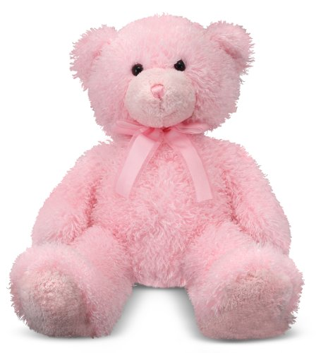 Cotton Candy Pink Teddy Bear