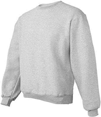 Fruit of the Loom Super Heavyweight Crewneck - ATHLETIC HEATHER - Small