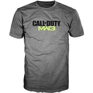 T-Shirt 'Call of Duty Modern Warfare 3' - gris - Taille M