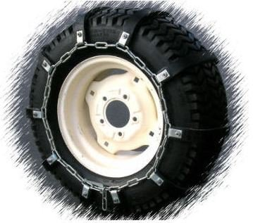Bowers Sales & Rentals 23x9.50x12 Rubber Tire Chains Garden Lawn Tractor at Sears.com