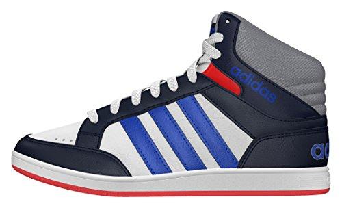 adidas Bambino Hoops Mid K scarpe sportive bianco Size: 33