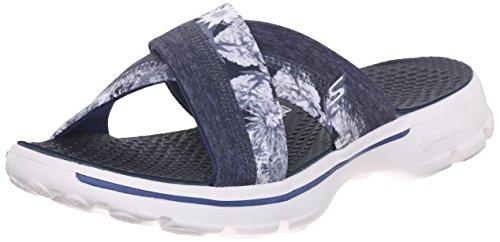 Skechers Donna, Scarpa, Go Walk - Fiji, Blu (Nvw), 39