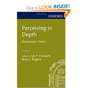Perceiving in Depth, Volume 2: Stereoscopic Vision (Oxford Psychology Series)