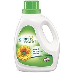 Green Works CLO 30319 90 oz Liquid Laundry Detergent Bottle
