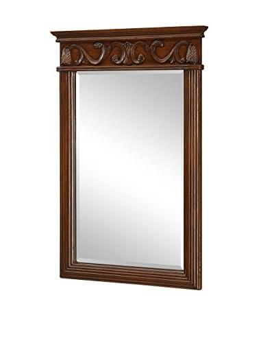 Antique Vanity Mirror, Brown