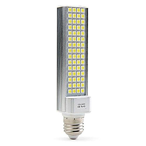 Generic E27 9W 60X5050 Smd 520-600Lm 5500-6500K Natural White Light Led Corn Bulb (110-240V)