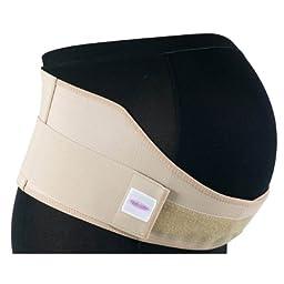 Gabrialla Elastic Maternity Support Belt (Medium Support), Medium, Beige