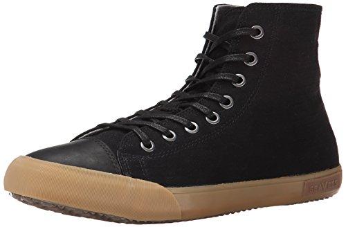 SeaVees Men's Army Issue High Mojave Fashion Sneaker, Black, 10.5 M US