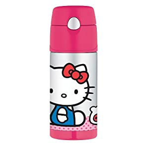 Thermos Funtainer Bottle, Hello Kitty