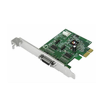 Siig Inc Dp Cyberserial Dual Pcie Serial adapter – 2 ports – Plug-in card – low profile – PCI Express – RS-232
