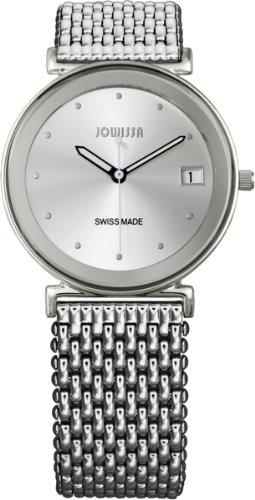 Jowissa Women's J2.026.L Strada Stainless Steel Silver Dial Date Watch