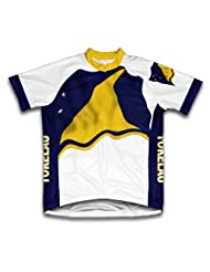 Tokelau Flag Short Sleeve Cycling Jersey for Women